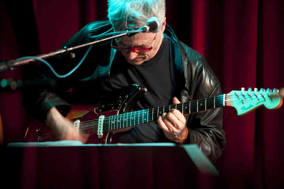 Guitarist Marc Ribot played with his trio Ceramic Dog at Sullivan Hall.