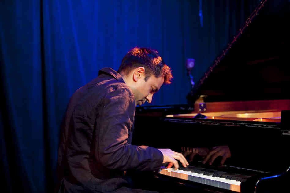 Vijay Iyer's trio set at Le Poisson Rouge was one of the most packed of the festival.