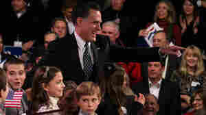In N.H. Primary Victory Speech, Romney Blasts Obama, Largely Ignores GOP Rivals