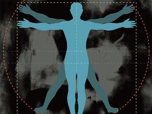 Simple Vitruvian Man