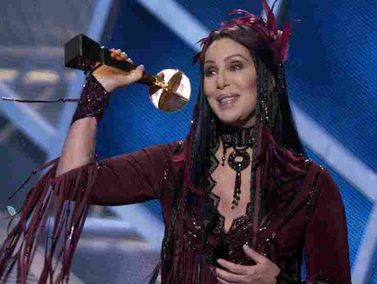 Singer Cher accepts a lifetime achievement award at the MGM Grand Hotel and Casino in Las Vegas during the Billboard Music Awards show in 2002. Her use of an obscenity in her acceptance speech led the FCC to fine broadcaster Fox.