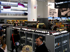 Walgreens' new 27,000-square-foot downtown Chicago location has a wine collection of more than 700 bottles, including one that sells for $500. The company says its flagship store with a European market feel is meant to be a destination to distinguish the chain's brand.