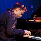 The Vijay Iyer Trio performs at Le Poisson Rouge for the NYC Winter Jazzfest on Saturday, Jan. 7.