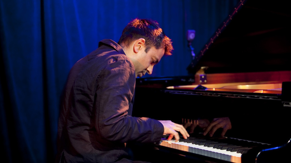 The Vijay Iyer Trio performs at Le Poisson Rouge for the NYC Winter Jazzfest on Saturday, Jan. 7. (johnrogersnyc.com)