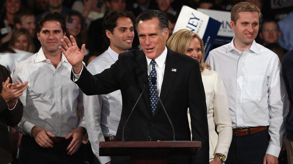 Romney Wins N H  Primary