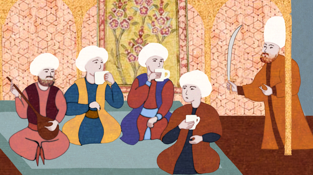 Though Murad IV banned tobacco, alcohol and coffee, some say he consumed all three and his death was the result of alcohol poisoning. (NPR)