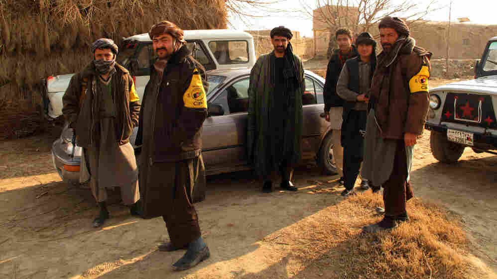 The northern Afghan town of Char Bolak is guarded by the Critical Infrastructure Police, an auxiliary police program. The U.S. is increasingly relying on ad hoc local militias to fight the Taliban, but residents and government officials have concerns about the militias.