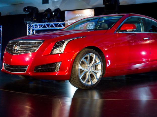 <strong>Start Your Engines: </strong>With Cadillac's unveiling of the ATS — a compact luxury car — the Detroit automaker put itself in direct competition with BMW's 3 Series and Mercedes-Benz's C-Class.