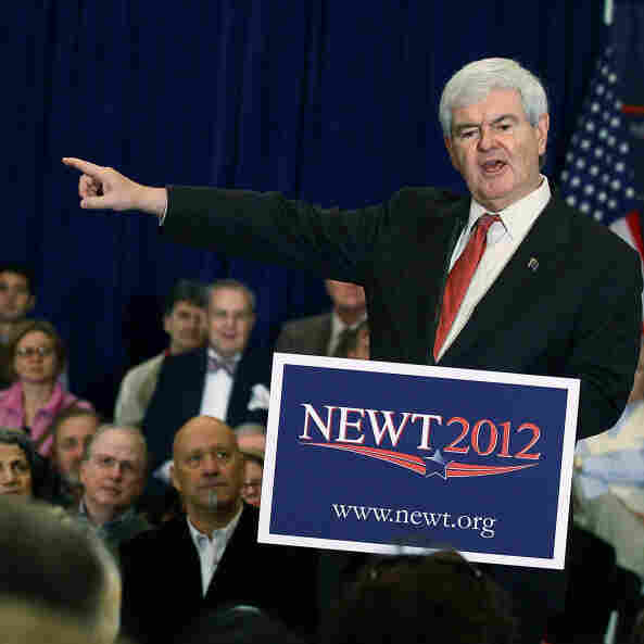 In South Carolina, Perry, Gingrich Go On The Attack