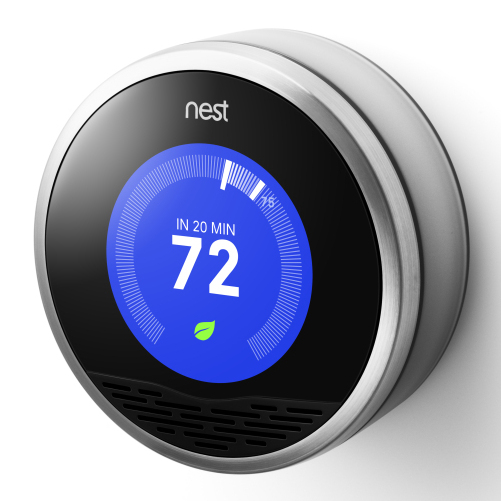 Nest's thermostat observes patterns in your house, then programs itself.