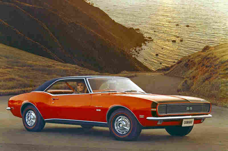 The Chevrolet Camaro first went on sale in September 1966 as a response to Ford's popular Mustang. It evolved through four generations before GM stopped production in 2002.