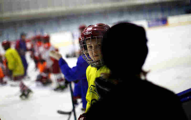 The youth hockey training program in Yaroslavl is developing the next generation of players.