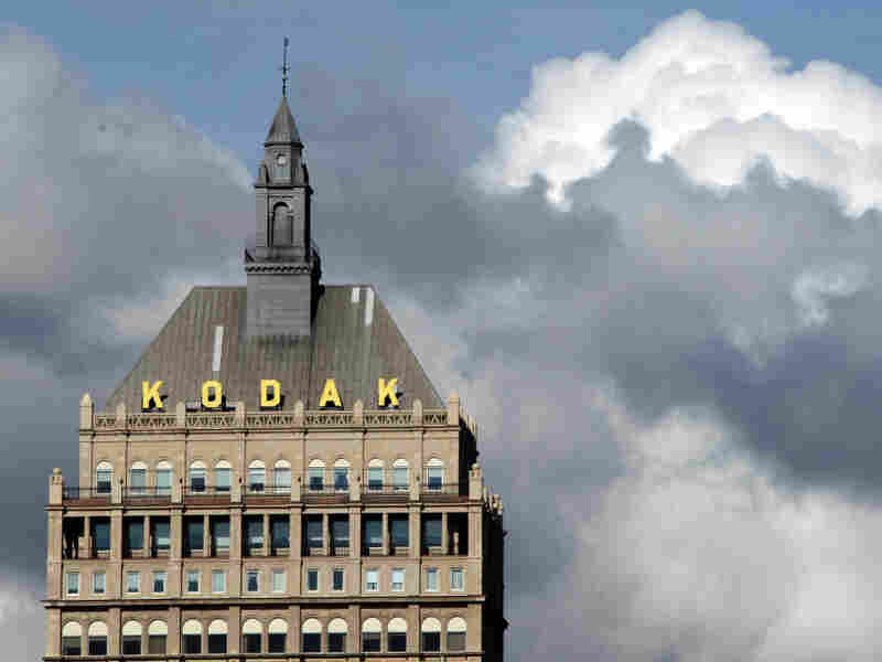 About half of Kodak's 38,000 retirees still live in Rochester, N.Y., where the company is headquartered.