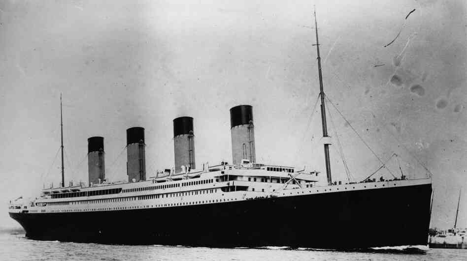 The Titanic, which sank 100 years ago in