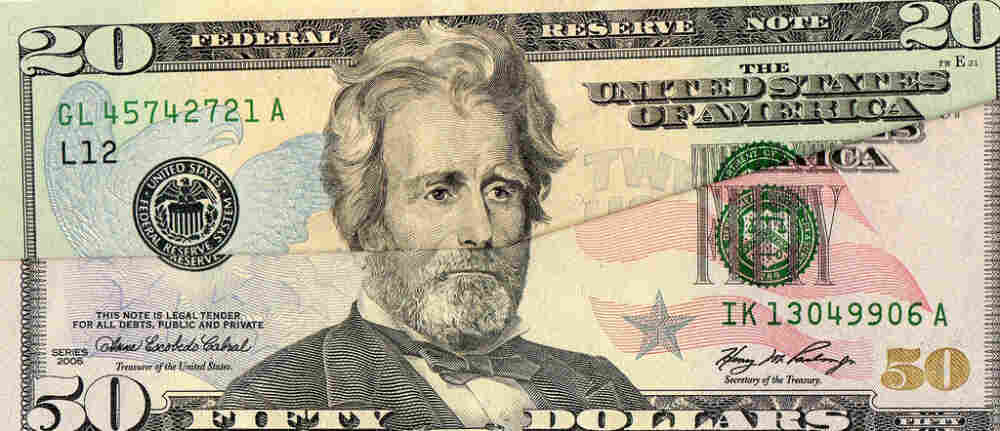 Andy Jackson's hair superimposed onto Ulysses Grant.