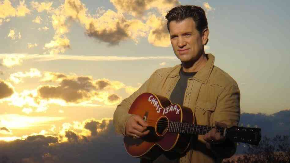 On his new album, Chris Isaak croons his way through classic covers.