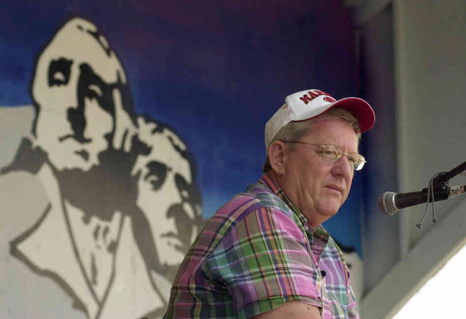 Bill Janklow at the state fair in Huron, S.D., in 2003.
