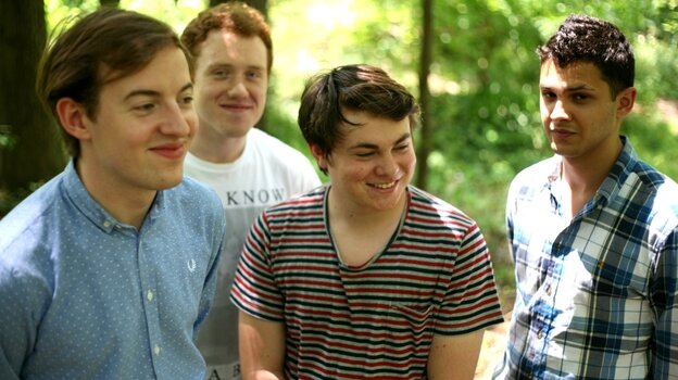 Led by vocalist Jack Steadman (far left), Bombay Bicycle Club has just released A Different Kind of Fix, its third album in as many years.