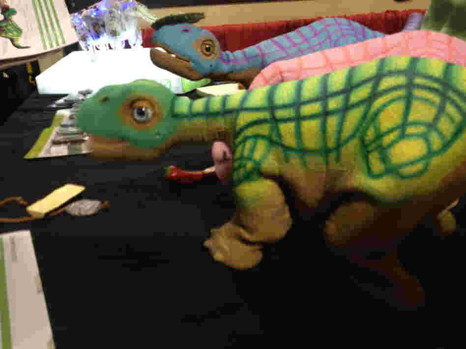 "The Pleo RB is a $469 plastic dinosaur robot. Its makers say it's like a real pet, but without ""poo-poo and wee-wee."""