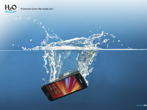 HzO has figured out a way to waterproof gadgets. The company was a media sensation at this year's CES.