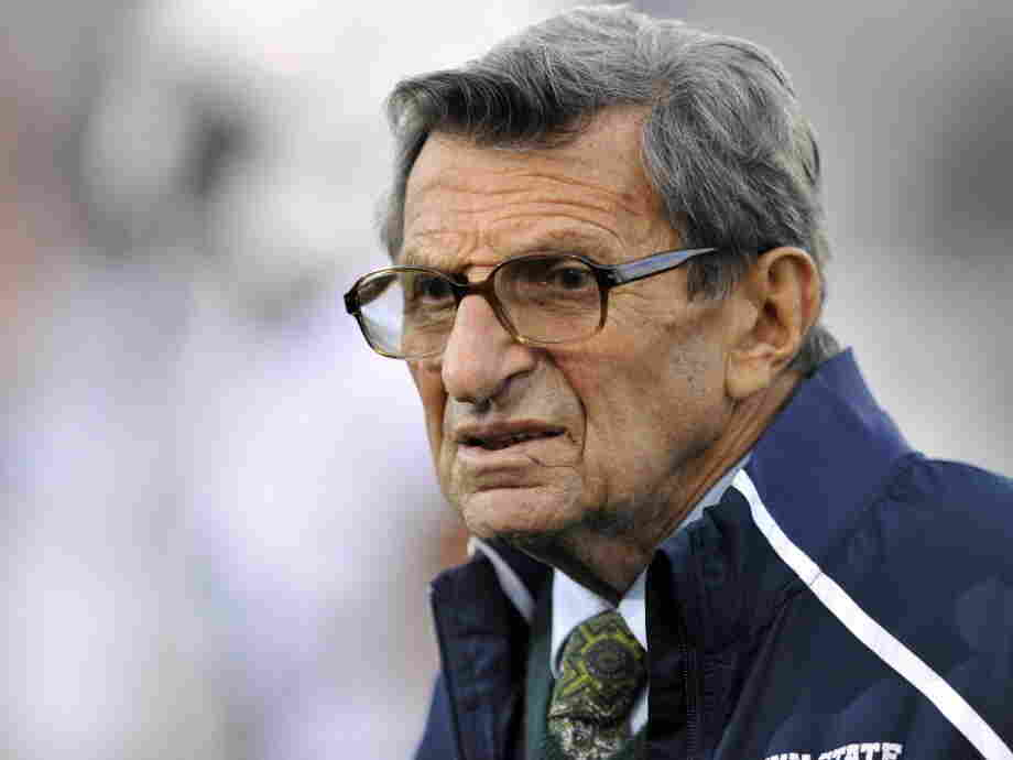 Joe Paterno, during a Penn State game last October.