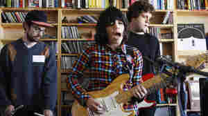 Screaming Females plays a Tiny Desk Concert at the NPR Music offices on October 6, 2011.