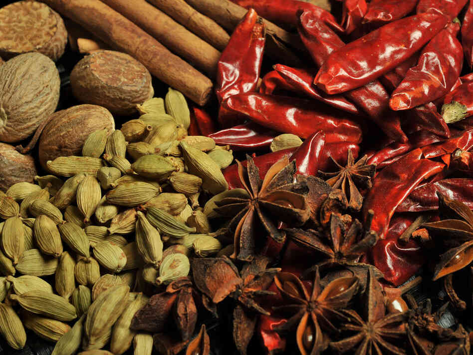 Irradiation is most often used to kill insects, parasites, or bacteria in or on spices, which are typically dried outdoors in before being shipped.