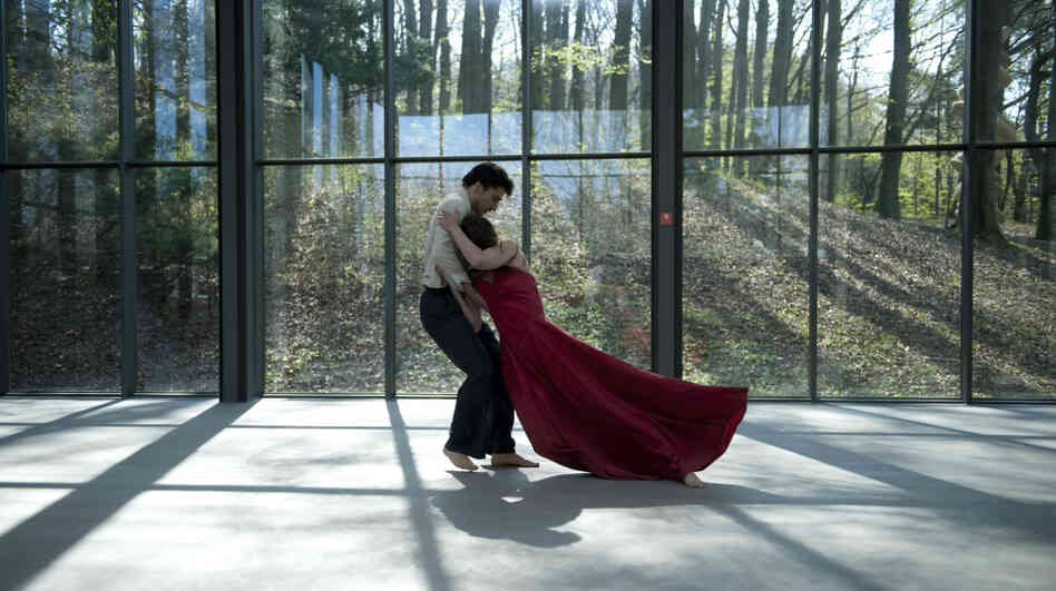 Damiano Ottavio Bigi and Clementine Deluy, both members of the Tanztheater Wuppertal under Pina Bausch, perform her choreography in Pina.