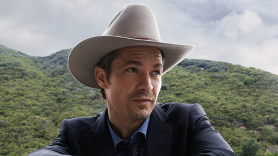 Timothy Olyphant plays Raylan Givens, a present-day U.S. marshal with Wild West inclinations on the FX series Justified. (FX)