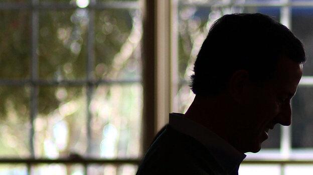 Former Pennsylvania Sen. Rick Santorum campaigns Friday in Rock Hill, S.C.