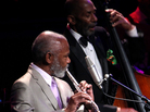 Hubert Laws (left) and Ron Carter.