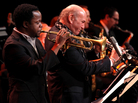 Ambrose Akinmusire (left) and Dave Liebman.