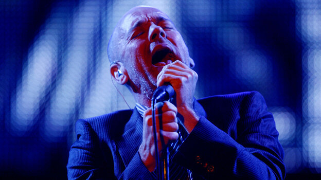 """""""It's always hard to tell exactly what [R.E.M.'s] Michael Stipe is singing about,"""" says NPR listener and novelist Thomas Mullen."""