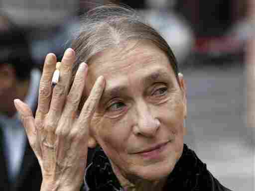 Pina Bausch, choreographer and director of the Wuppertal Dance Theater, is seen in Frankfurt, Germany, in 2008. Bausch died in 2009.