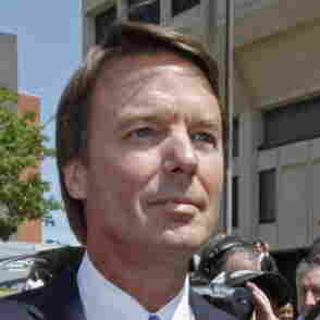 John Edwards after his indictment last June.