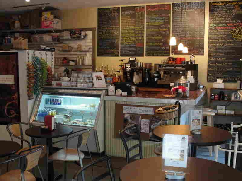 The Corner Perk Cafe in Bluffton, South Carolina.