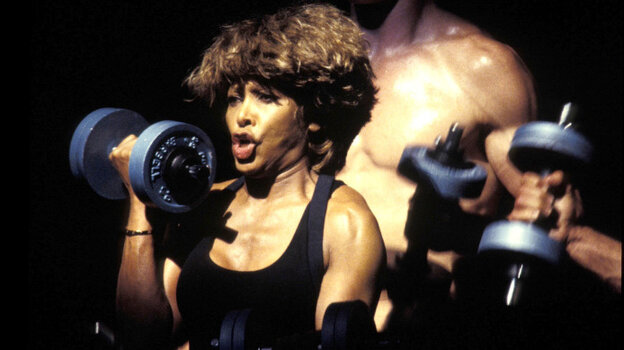 """Tina Turner's epic version of """"Proud Mary"""" is a full workout in a song. Trust us."""