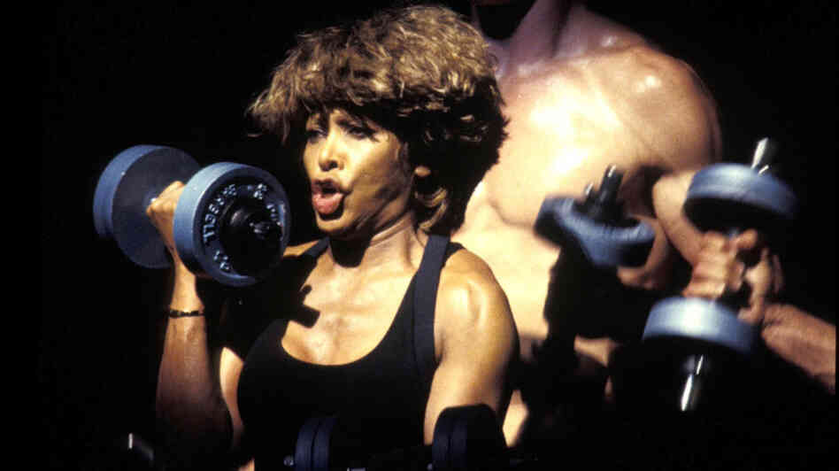 "Tina Turner's epic version of ""Proud Mary"" is a full workout in a song. Trust us."