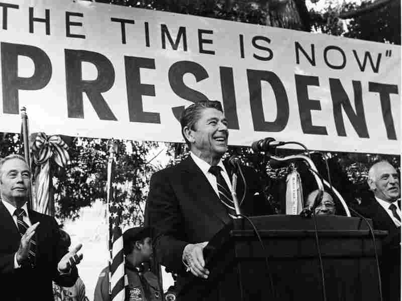 Ronald Reagan rose to the presidency at the end of the 70s, an era when inflation and the Cold War threatened America.