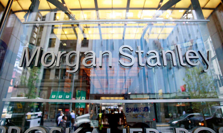 Morgan Stanley headquarters in New York Ci