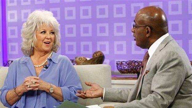 Paula Deen tells Today show co-host Al Roker that she has Type 2 diabetes. (ASSOCIATED PRESS)