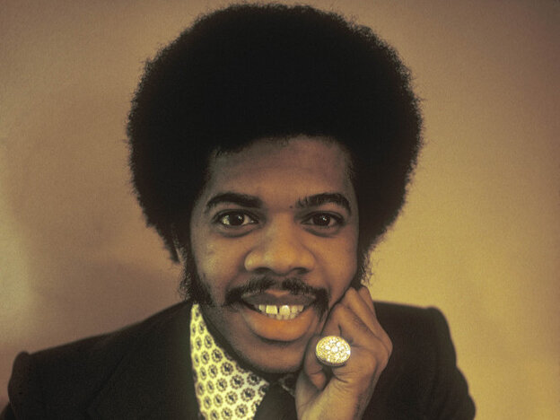 Songwriter and bandleader Jimmy Castor in a photo taken during the Jimmy Castor Bunch era. Castor began his career as a doo-wop singer, later picked up the saxophone and had his greatest success in the 1970s as the leader of a funk group.