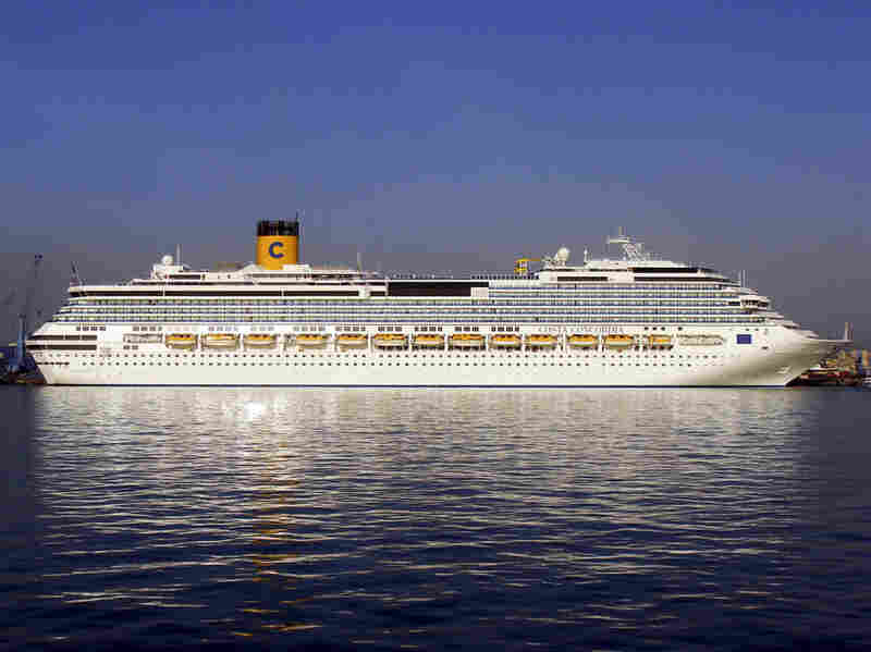 The Costa Concordia sails from Limassol, Cyprus, in April 2009. The ship ran aground off the coast of Giglio Island, Italy, on Saturday, forcing the 4,200 passengers onboard to evacuate.