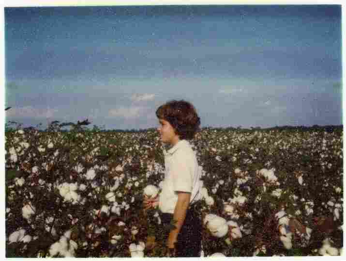 A young Robbins on the family farm in Mississippi, circa 1985.