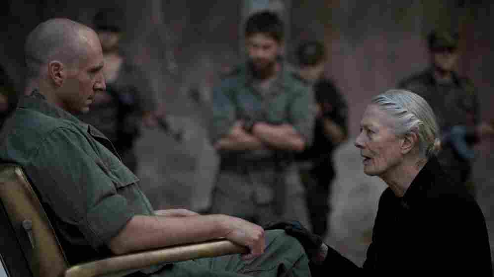 Bare-Knuckle Politics: The battle-hardened Roman general Coriolanus (Ralph Fiennes) runs for office at the urging of his mother (Vanessa Redgrave) — but it turns out he's no booster of majority rule.