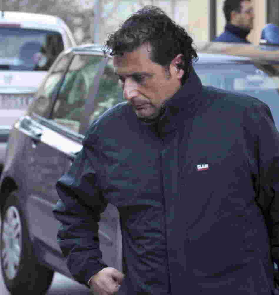 Francesco Schettino, the captain of the luxury cruiser Costa Concordia, on Saturday.