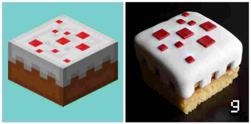 "...a healing piece of ""Minecraft"" cake."