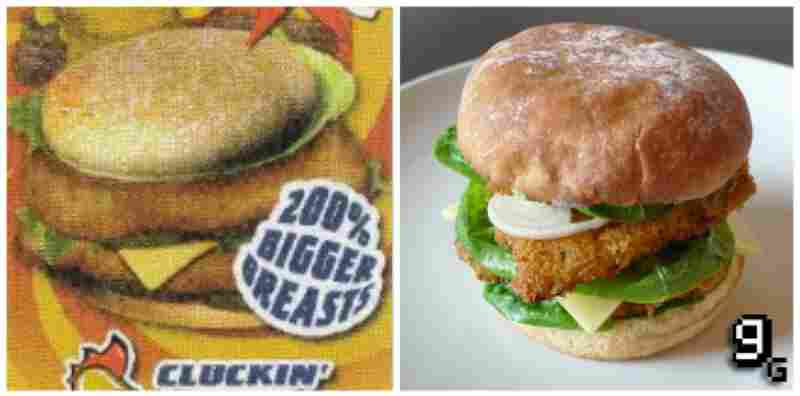 "...the Cluckin' Bell Fowl Burger in ""Grand Theft Auto IV."""