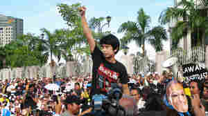 In Malaysia, Student Challenges Limits On Politics
