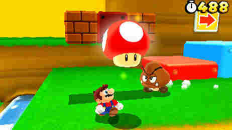 Mushrooms are a staple in the Super Mario Bros. games.